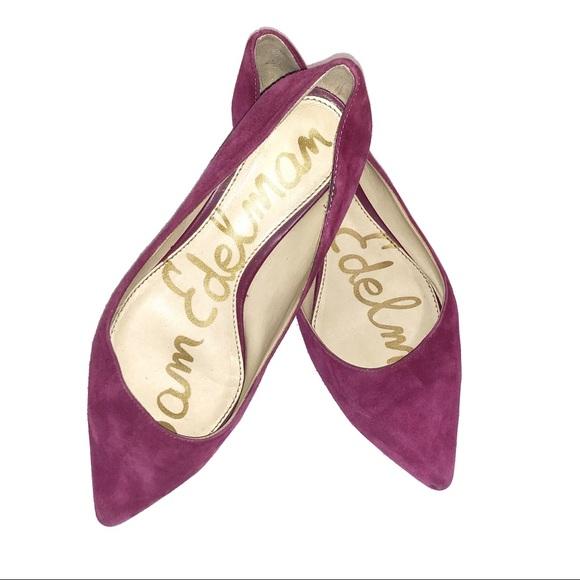 Sam Edelman Shoes - Sam Edelman  Reyanne Pointed Toe Suede Flats